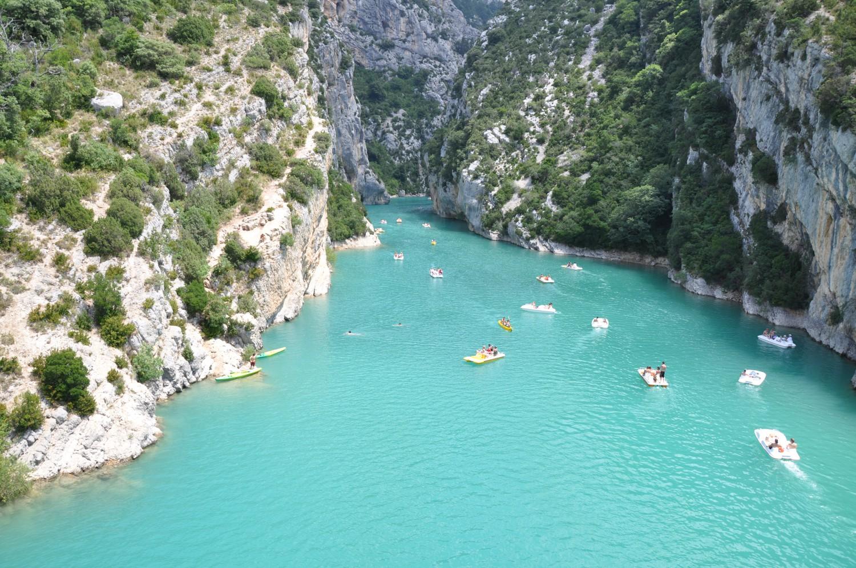Alpes de Haute Provence Lac de Sainte Croix