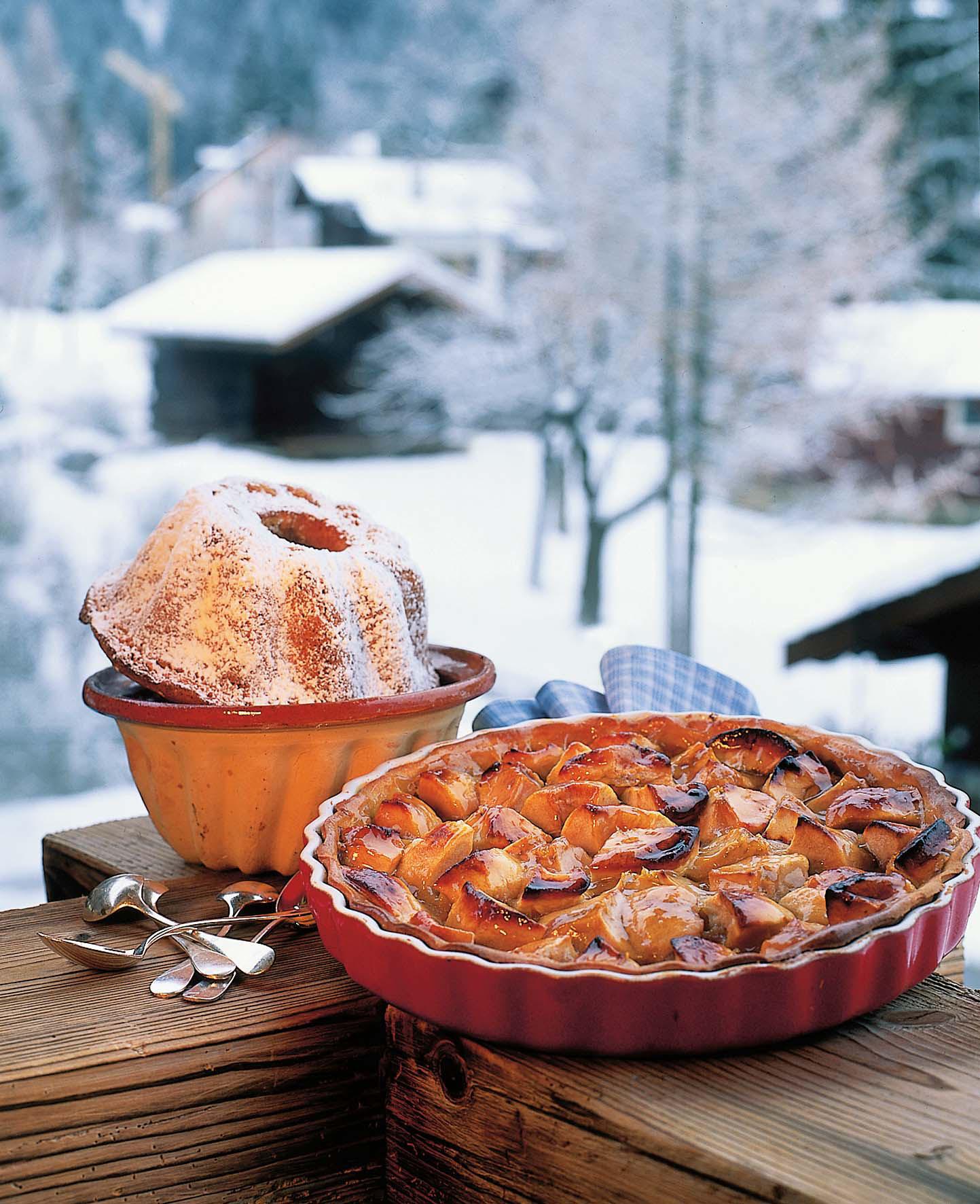 Biscuit-de-Savoie-et-tarte-maison ©La-Maison-Carrier