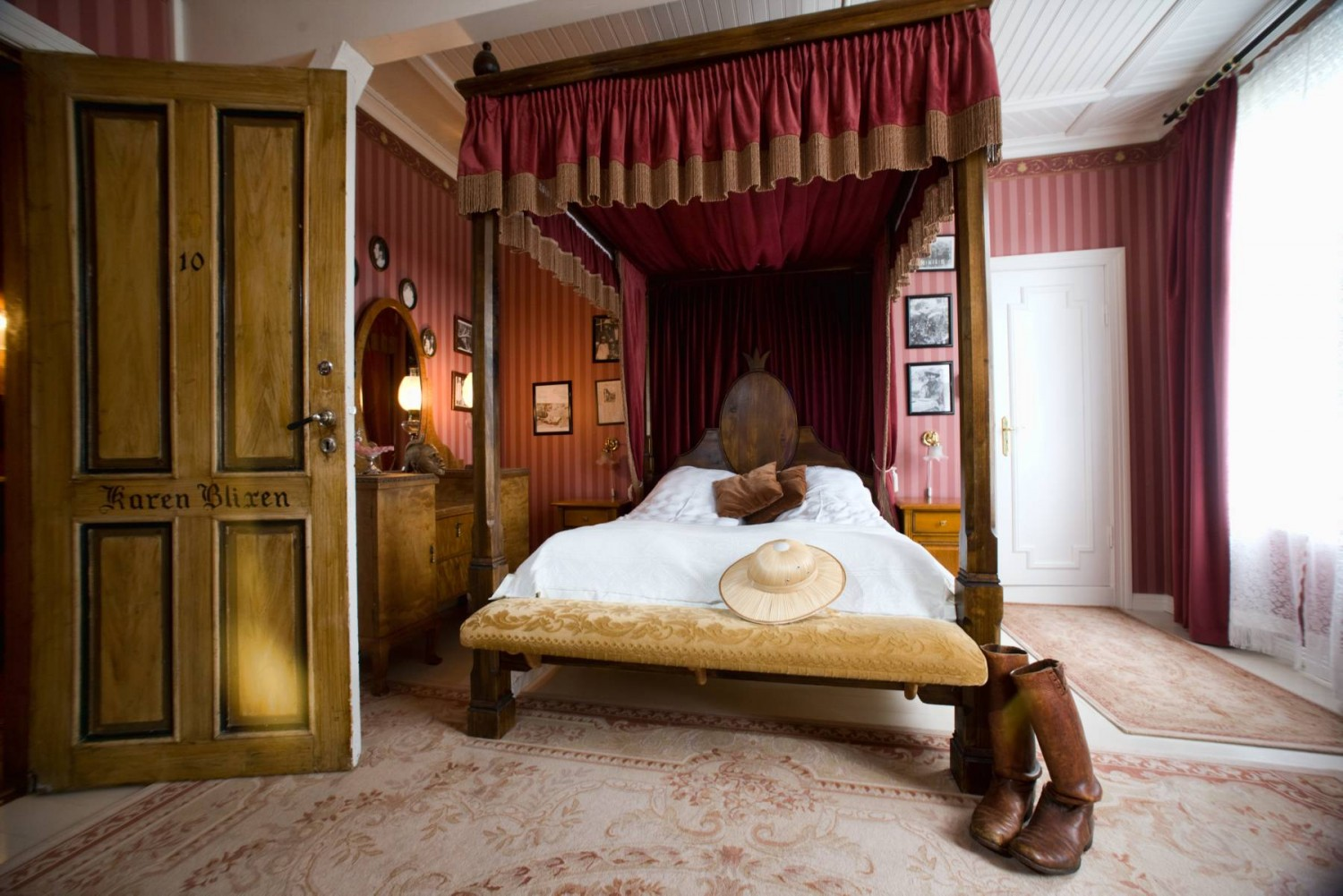 The Room of Karen Blixen Hotel Union ùye 62¯Nord_62.no